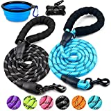 DOYOO 2 Pack Dog Leash 6 FT Thick Durable...