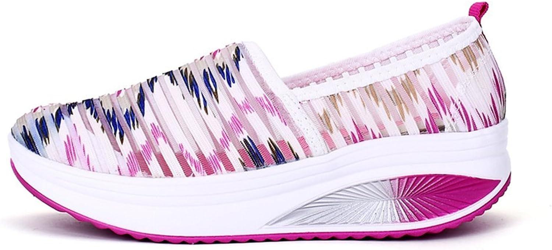 Brilliant sun Women's Casual Slip On Loafers Platform Fashion Sneakers