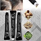 Haarwuchsbehandlungsöl, für dünner werdendes Haar, Anti-Haarausfall-Serum, Förderung des Haarwachstums, dreifaches Roll-On-Massagegerät (20 ml, 0,67 oz)