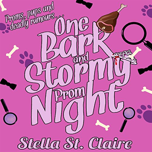 One Bark and Stormy Prom Night audiobook cover art