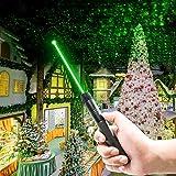 7. Laca Green Beam Assist, High Beam Adjustable Light Size Pattern Outdoor Camping Hunting,Handheld Flashlights