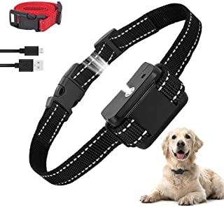 ULTPEAK Anti Bark Collar Stop Dog Barking Collars Risk Free No Shock Bark Collar, Sound Vibration Humane NO Harm Training,...