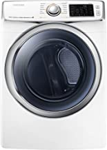 Samsung DV45H6300EW 7.5 Cu. Ft. Front-Load Electric Steam Dryer with Vent Sensor, White