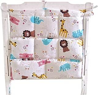Cute Cartoon Baby Crib Hanging Diaper Bag Storage Bag Baby Room Decor Animal