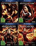 Die Tribute von Panem 1 + 2 + 3 | Hunger Games | Catching Fire | Mockingjay 1 + 2 | [Alle 4 Filme Blu-Ray Fan Edtion]