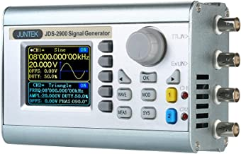 Signal Generator, KKmoon High Precision Digital Dual-channel DDS Signal Generator Counter 2.4in Screen Display Arbitrary Waveform Pulse Signal Generator 0.01uHz-60MHz Function Frequency Meter 266MSa/s