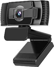 Atheta AutoFocus Webcam with Microphone & Privacy Cover, 1080P HD Streaming Webcam,USB PC Computer Desktop Laptop Web Came...