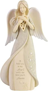 Enesco Foundations Heart Hold You in Heaven Bereavement Ange