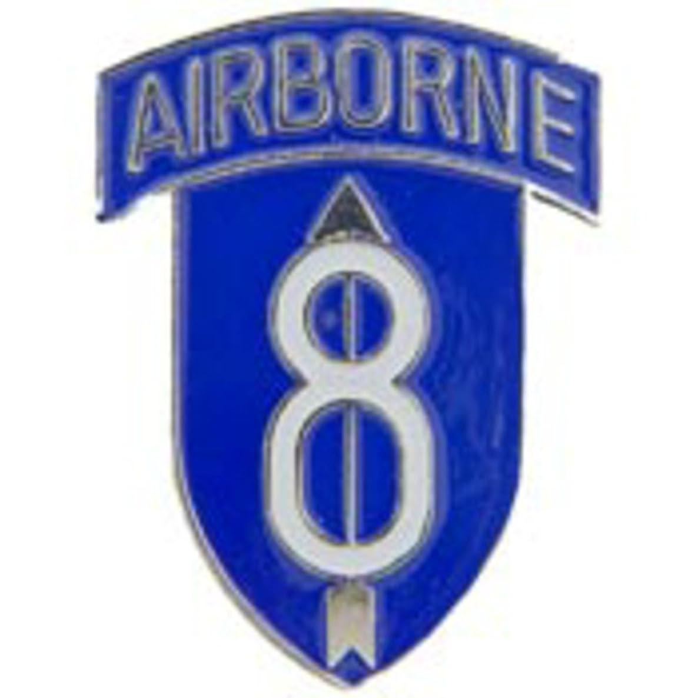 EagleEmblems P62462 Pin-Army,008TH Inf.DIV.AB (1'')