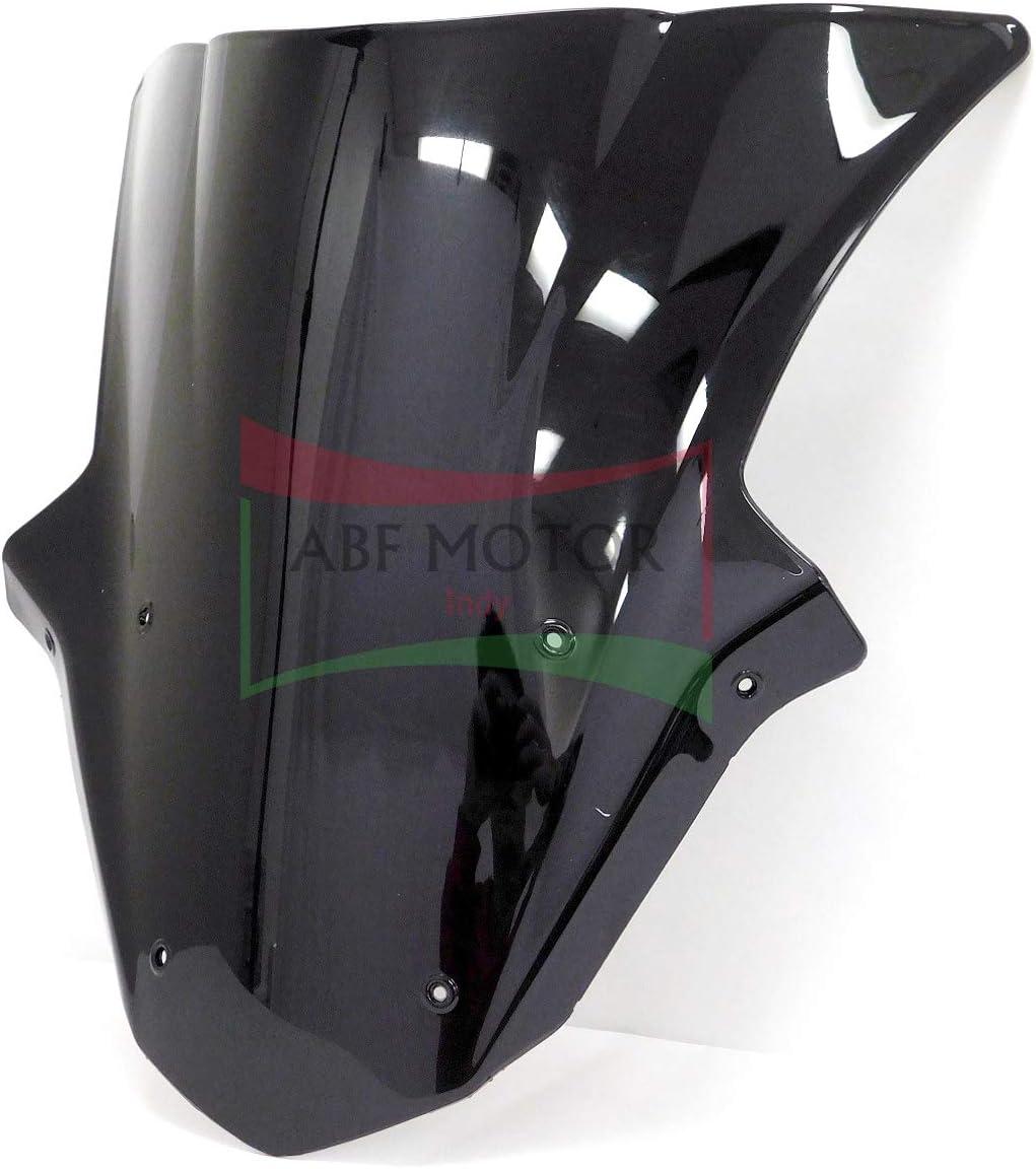 Smoke Double Bubble ABS Plastic Injection Windscreen Windshield ...