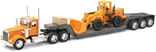 New Ray Die-Cast Truck Replica - Kenworth W900 with Front Loader, 1:32 Scale,...