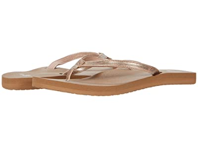 Sanuk Yoga Joy Shimmer Metallic (Rose Gold) Women