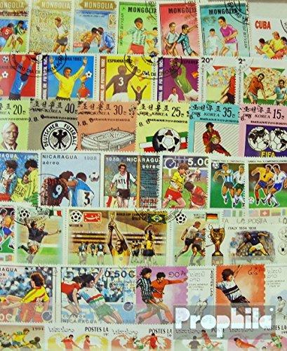 Prophila Collection Motivazioni 300 Diversi Calcio Francobolli (Francobolli per i Collezionisti) Calcio