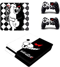 Tokaski® Danganronpa V3 PS4 Slim Designer Skin Game Console System 2 Controller Decal Vinyl Protective Covers Stickers for Sony PlayStation 4 Slim