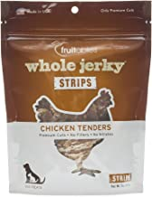 product image for Fruitables Whole Jerky Roasted Chicken Tenders Dog Treats