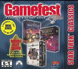 Star Trek: Gamefest 3 Complete Star Trek Games in 1 Box!