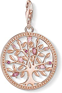 thomas sabo rose gold pendant