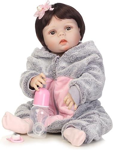 QXMEI Simulations Wiedergeburt Puppen Silikon Nettes Baby Kann Wasser Begleiten Um Spielzeug Kind Kreatives Pers ichkeits Geschenk 5cm Zu Begleiten