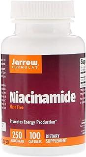 Jarrow Formulas, Niacinamide, 250 mg, 100 Capsules
