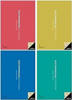 Additio P202 - Agenda de Programación, color verde pistacho;Cuadernos para el profesorado Additio