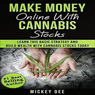 Make Money Online with Cannabis Stocks audiobook cover art