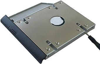 ULTRACADDY 2ª HDD SSD Disco Duro Caddy para Lenovo V130-15 con Placa Frontal/Soporte