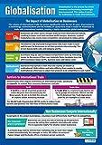 Mondialisation | Affiches d'affaires | Papier laminé brillant mesurant 850 mm x 594 mm (A1) | Affiches de classe affaires | Cartes éducatives par Daydream Education