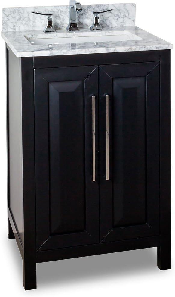 Jeffrey Alexander VAN101-24-T Cade Vanity safety Cheap SALE Start Black Contempo