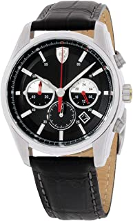 Ferrari Men's 830200 GTB - C Analog Display Quartz Black Watch