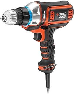 BLACK+DECKER MT350K-B5 300W 10mm Corded Multi-Evo Multitool Starter Kit with Drill Driver Head (Orange)