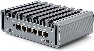 HUNSN Firewall, Mikrotik, Pfsense, VPN, Network Appliance, Router PC, Intel Celeron 3865U/3867U/3965U, RS36, AES-NI/6 Giga...
