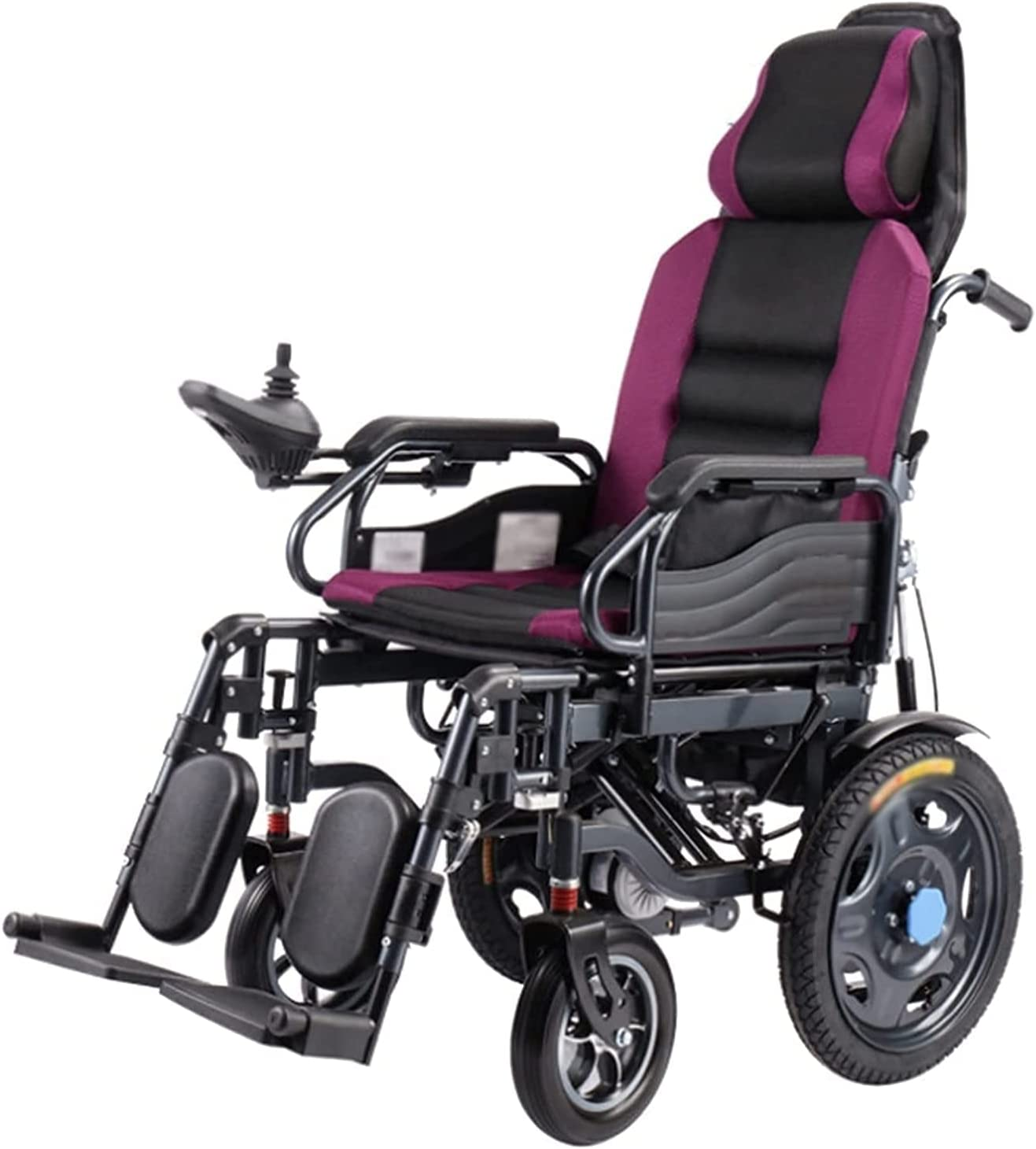 Electric Wheelchair with Headrest Reclining NEW before selling Full High order Backrest