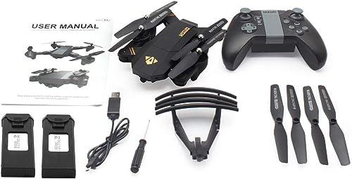 en stock WOSOSYEYO VISUO XS809HW 720P cámara cámara cámara de ángulo Ancho FPV RC Drone con Dos baterías  ordene ahora los precios más bajos