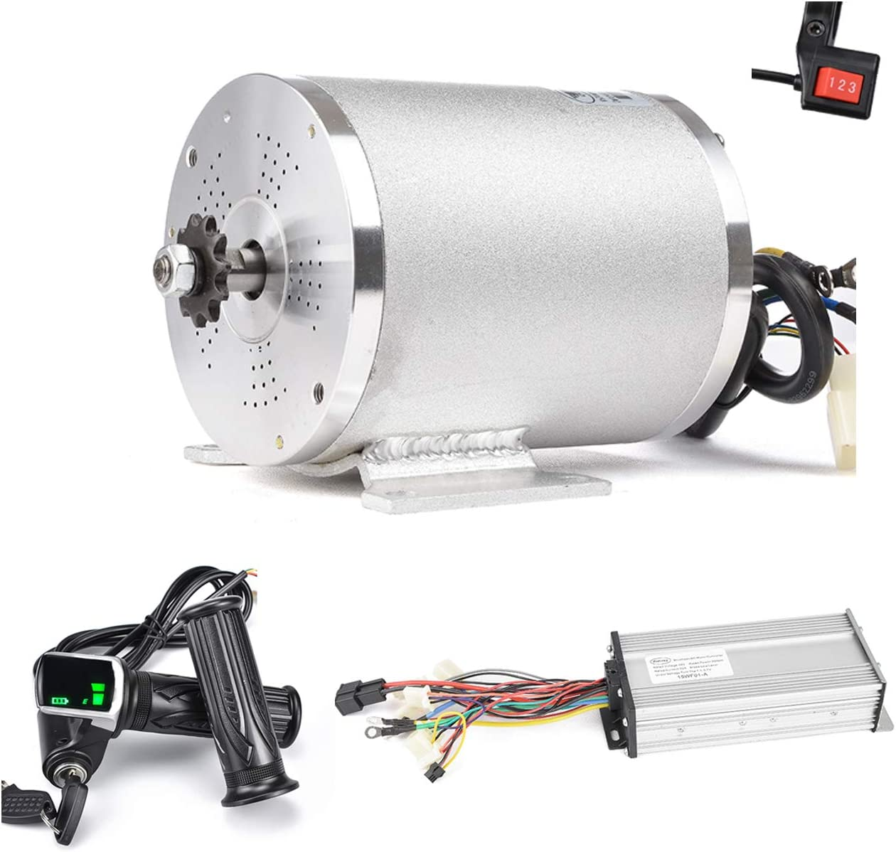 Kunray Electric Brushless DC Motor Complete Kit