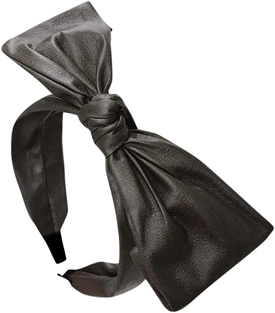 VISOEP Bow Knot Hairband Women Hair Head Hoop Simple Sweet Girls Hair Headband Headwear