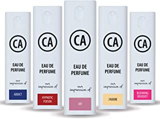CA Perfume Spray-Mix-Set 10ml x 5 (Designer Perfume...
