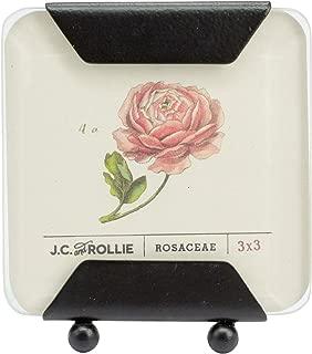 J.C. and Rollie Black Beveled Frame - 3