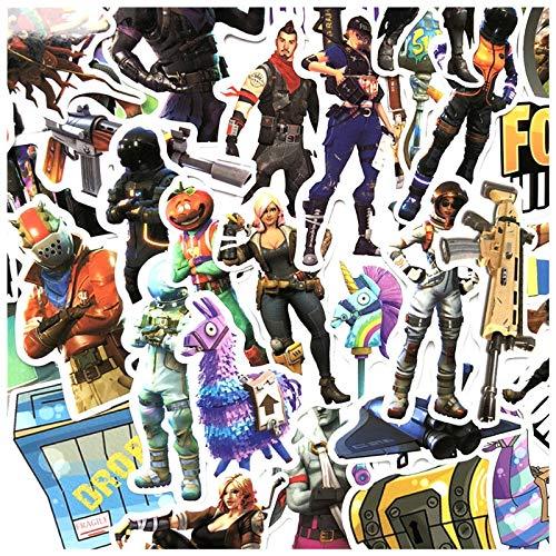 BLOUR Auto Graffiti-stickers beschermen aarde spel muurtattoos voor coole motorfiets laptop koffer decoratie vinyl anime poster 40 stuks