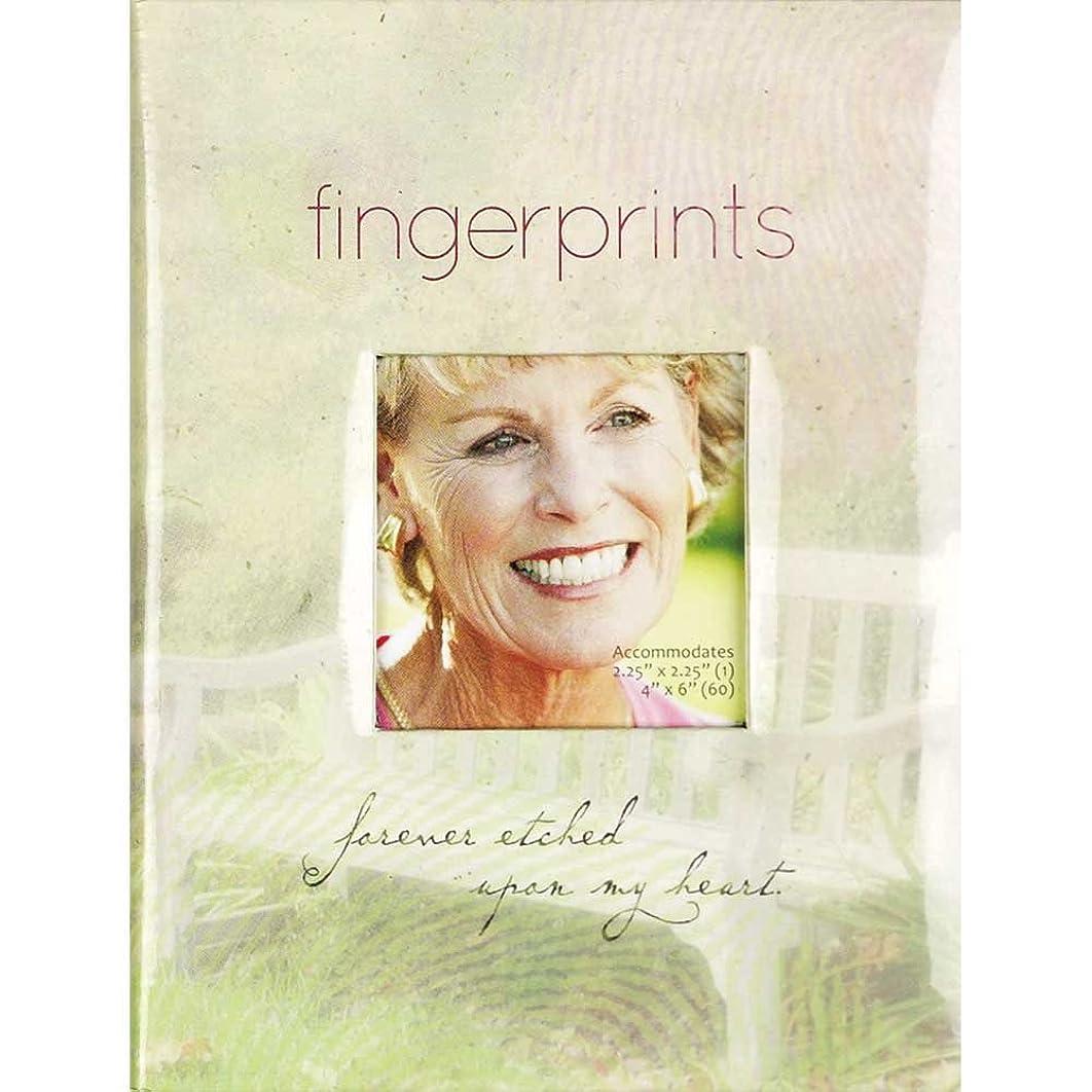 Fingerprints Memorial Photo Album - Holds 60 4x6 Photos