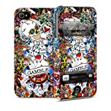i-Paint Hard Case with Skin for iPhone 4/4S - Tattoo