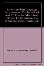 American Sign Language Dictionary on Cd-Rom/Book and Cd Rom for MacIntosh (Harper Collins Interacitve Reference Tool) (Hardcover)