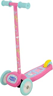 Peppa Pig MV Sports International Pink My First 3 Wheeled Scoot Scooter for Little Girls Tilt and Turn