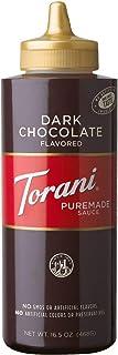 Torani Puremade Dark Chocolate Sauce, 16.5 Ounces