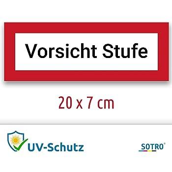 2 Aufkleber Alarm GESICHERT Alarmanlage Alarm Hinweis Premium Sticker Rund Witterungs und UV-Best/ändig