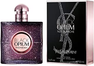 Yves Saint Laurent Black Opium Nuit Blanche Eau de Parfum Spray, 1.6 Fluid Ounce