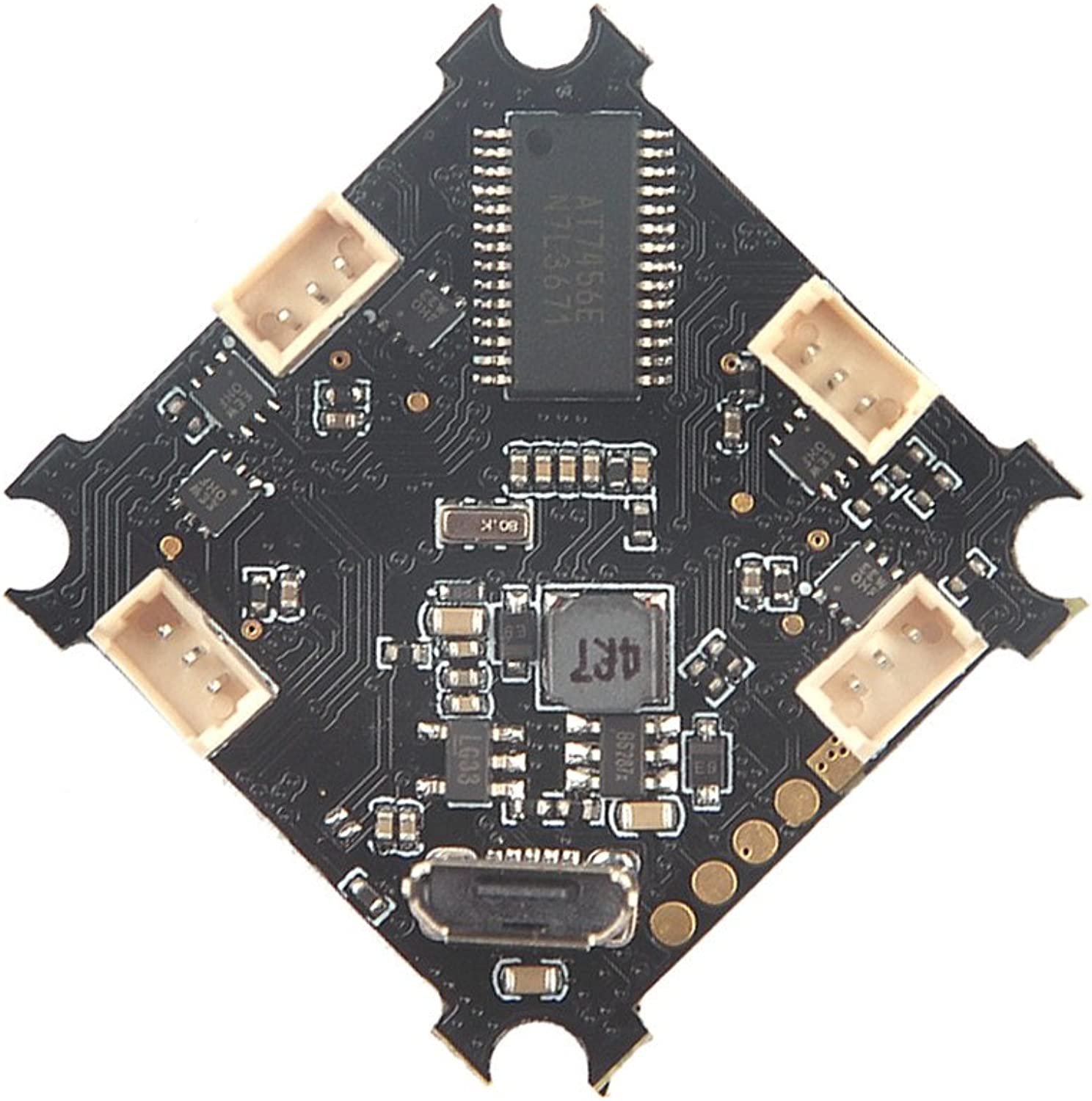 saludable Desconocido Generic Beecore_BL F3 1S Flight Flight Flight Controller Integrated OSD 5A BLHeli_S Brushless ESC for Tiny Whoop RC Drone  contador genuino