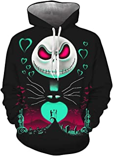 NBC Sweat-shirt-Halloween Nightmare before Christmas Jack Skellington Nouveauté