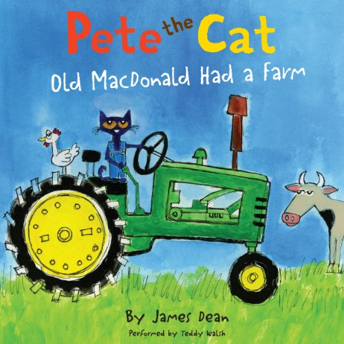 Pete the Cat audiobook cover art