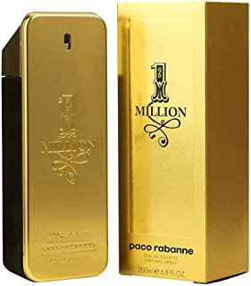 PACO RABANNE 1 Million Men Eau DE Parfum 200ML VAPORIZADOR Unisex Adulto Negro 200 ml