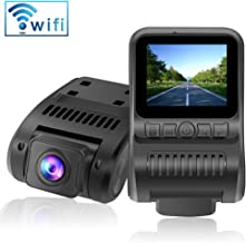 Upgraded Dash Cam Built in WiFi 1080P FHD Mini Car Dashboard Camera Recorder with 2.0